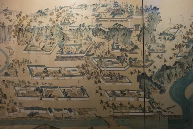 郡上八幡城 八幡城の戦い 絵図
