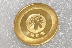 松本城メダル