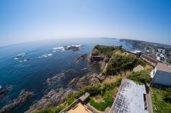 波切城(三重県)。九鬼水軍の拠点。海にせり出た半島が今も残る!