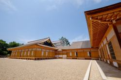 名古屋城。本丸御殿の復元が完成!