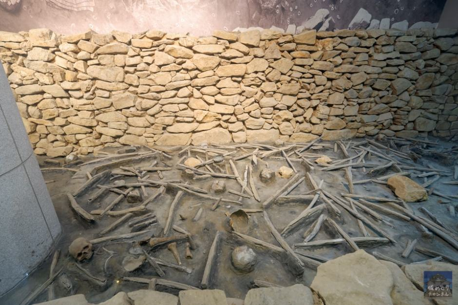 東莱邑城 [2/2] 駅構内にリアルに再現された堀跡へ。 – 城めぐりチャンネル